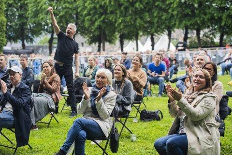 Det ble festivalfølelse på Plenen torsdag.