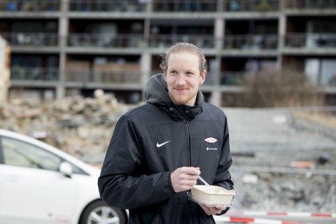 Eirik Holmen Johansen (28) spiller fra start i Branns bortekamp mot Sarpsborg søndag.
