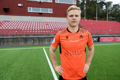 Håkon Holmefjord Lorentzen ble helten med sine to mål mot Start.