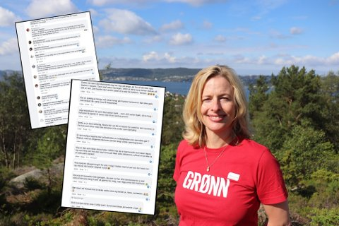 Christine Ødegaard, bystyrerepresentant for MDG og medlem i utvalg for helse, sosial og omsorg. Hun ber om svar fra Bergen kommune etter flere tilfeller med politikerhets.