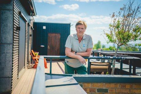 Thomas Larsen hadde med rette sine tvil om kvaliteten på arbeidet som ble utført med takterrassen hans. Foto: Stian Lysberg Solum / NTB