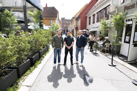 De tre eierne Andreas Wassbjer, Eduardo Gomez og Frank Ove Ditlaroche åpnet i starten av juni et meksikansk kjøkken i gaten.