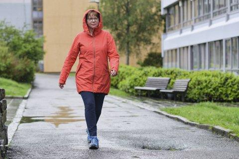 Innimellom pensumlesing og jobbsøking går Linda på tur for å få dagene til å gå.