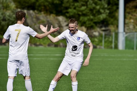 Erik Huseklepp koste seg da han og og FK Fyllingsdalen slo Bjarg 4-2 i en meget etterlengtet treningskamp lørdag.
