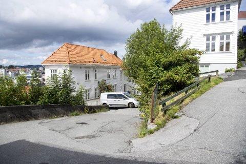Stengingen av Bryggen i fjor førte til trafikkøkning i Fjellsiden. Her fra Bispengsgaten.