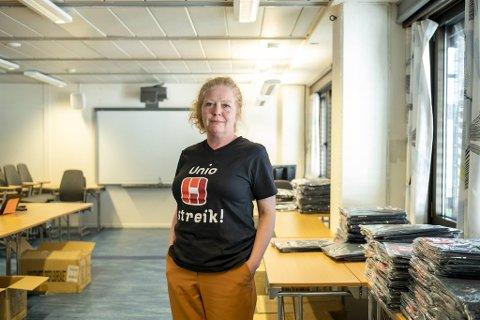 Bente Myrtveit er leder for Unio i Bergen.