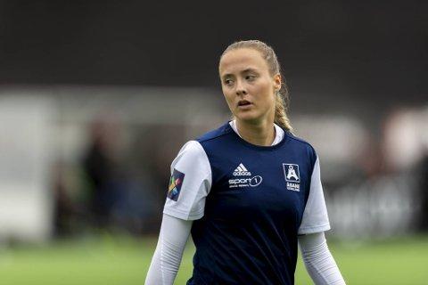 Ingvild Villa var Åsanes beste spiller i tapet mot Øvreholl/Holse.