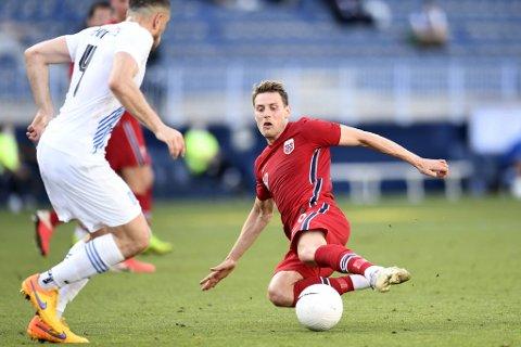 Kristoffer Zachariassen (27) fikk debuten for Norge, men ble byttet ut til pause.