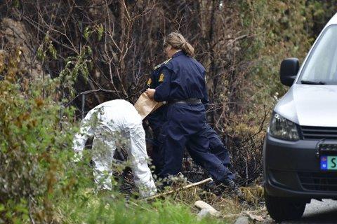 Politiets krimteknikere gjennomførte fredag 4. juni åstedsundersøkelser i Fjæreidepollen. Årsaken til brannen er fortsatt ukjent.