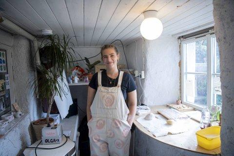 Margot Kortebein Birkeland fra Bergen er med i Ellos sin nye kampanje.
