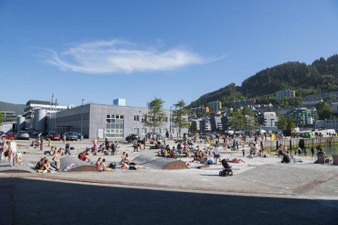 Onsdag blir det fortsatt badevær i Bergen, men mot helgen blir det nok bare bading for spesielt interesserte.