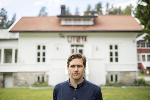 Jørgen Watne Frydnes (37) har brukt de siste ti årene på gjenreisingen av Utøya etter terroren 22. juli 2011.