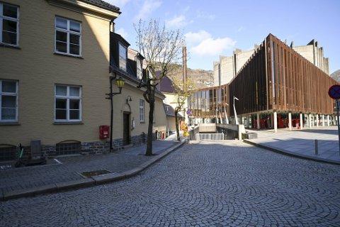 Nina Griegs gate er blant de få gatene i Bergen med kvinnelig navn.
