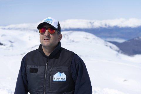 Michael Iversen er daglig leder i FONNA Glacier Ski Resort.