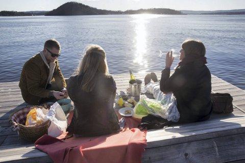 Sommer, sol og god mat og drikke – kan det bli så mye bedre? Om alle tar med seg en liten rett, blir det også et flott spleiselag der maten og drikken nytes sammen.