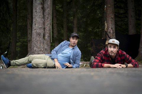 Fra venstre: Kurt Mega Herdlevær og Ronnie Mega Herdlevær.