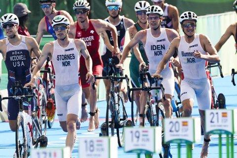 Casper Stornes, Gustav Iden og Kristian Blummenfelt er blant verdens beste triatleter. Men lenge ville ikke forbundet engang satse på olympisk triatlon.