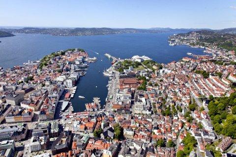 Smitten er i øyeblikket størst i Bergen sentrum