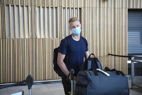 Sivert Heltne Nilsen ankom hjembyen Bergen for å bli Brann-spiller, tre år etter han forlot klubben.