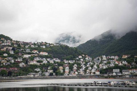 Bergen gikk klar av det verste været denne søndagen.