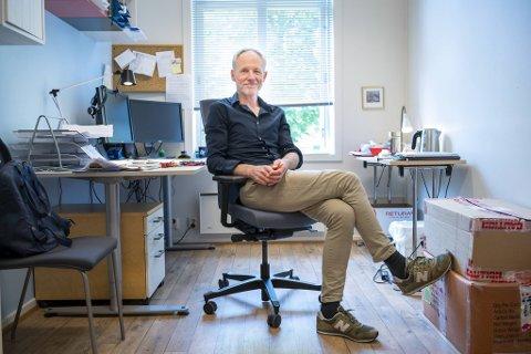Øystein Sandven er psykologspesialist og leder for Sammen Psykisk Helse. Han forsikrer om at det er hjelp å få for byens studenter.