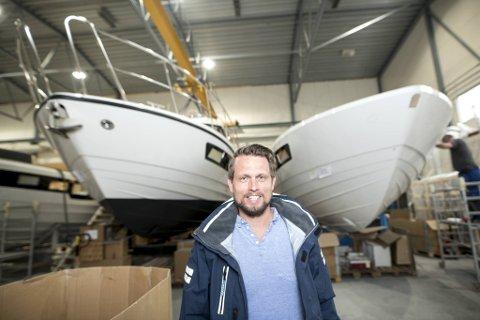 Daglig leder i båtbyggeren Viknes Kristian Sivertsen øyner muligheter for å kunne passere en omsetning på 200 millioner kroner i 2021.