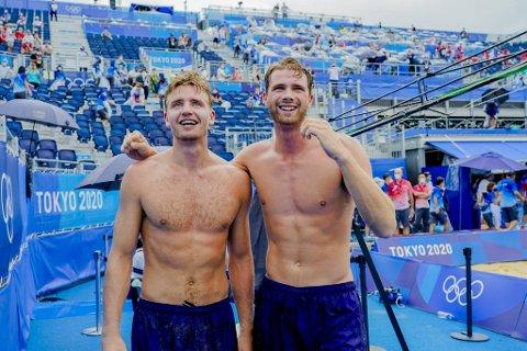 Anders Mol og Christian Sørum skal spille EM-finale søndag.