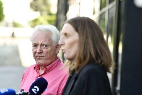 Styreleder Birger Grevstad og daglig leder Vibeke Johannesen hadde ikke ny informasjon å komme med, etter syv timer med styremøte.