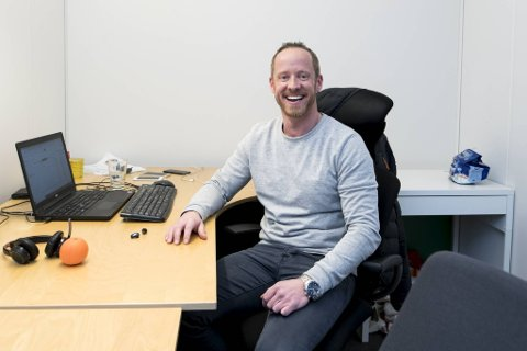 Jesper Algaard vil gjennom mobilappen Venn legge til rette for at mennesker enkelt kommer i kontakt med potensielle venner og passende aktivitetstilbud.