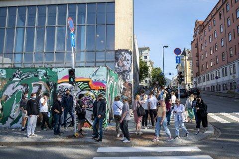 Sentralbadet holdes åpent for drop-in rettet mot studenter også tirsdag og onsdag.