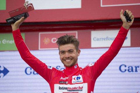 Odd Christian Eiking leder sykkelrittet Vuelta a España.