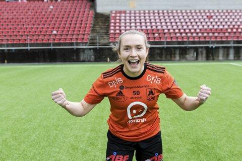Emma Støyva kom inn i det 90. minutt og scoret utligningsmålet fire minutter senere.