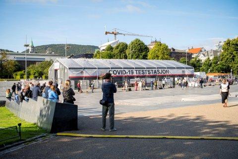 Under smittebølgen i august ble det igjen innført strenge lokale tiltak i Bergen.