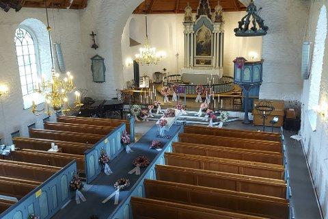Begravelsen av Lena Maria Aase ble holdt i Arna kirke.