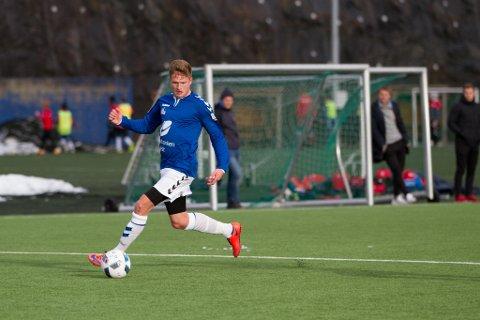 Erik Kanestrøm scoret Øystese sitt mål.