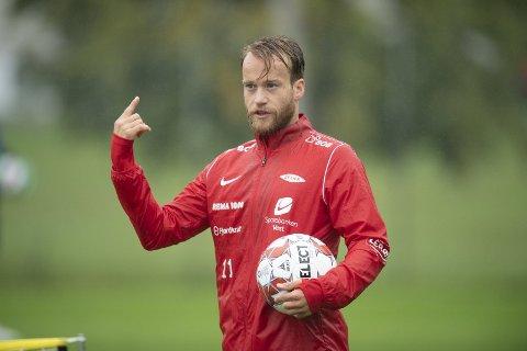 Bård Finne er en målgarantist på Stadion. Spørsmålet er om han klarer å opprettholde statistikken i en bunnkamp for Brann.