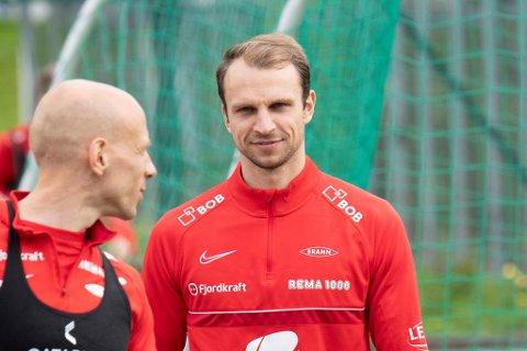 Lars Krogh Gerson er med i sin første Brann-tropp mot KBK på søndag.