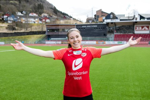 Tanja Myrseth har vært solid for Arna-Bjørnar denne sesongen.