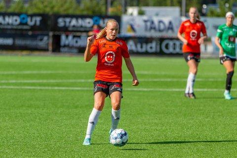 Maria Østervold sikret tre poeng på en dårlig dag for Åsane. De ligger på 2.-plass i 1. divisjon.