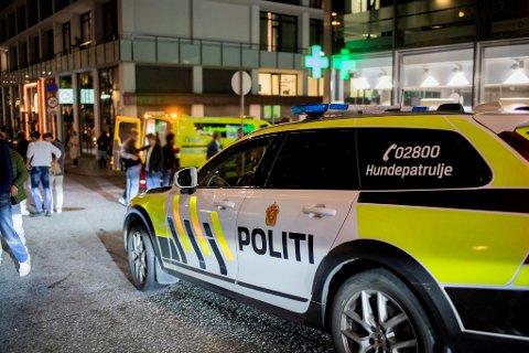 En mann ble slått ned ved Krinkelkroken natt til søndag.
