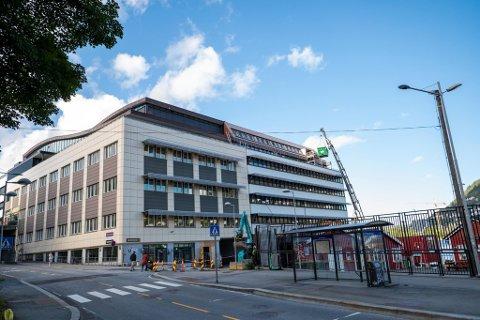 Rundt 260 Nav-ansatte vil få sin nye arbeidsplass her i Møllendalsveien, mot cirka 230 ansatte i Solheimsviken i dag.
