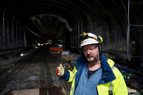 Ole Wilhelm Mortensen har vært med på alle byggetrinnene til Bybanen. En bybanetunnel i sentrum vil bli noe av det mest kompliserte de har gjort.