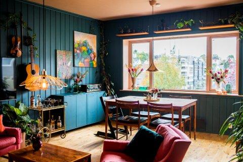 Mulighetene er uendelige dersom du ønsker et fargerikt hjem.