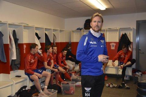 Fana-trener Ørjan Håland så laget sitt innkassere nok en seier.