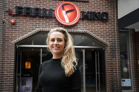 Markedssjef Benedikte Schuitema i Fram Kino ber folk være forsiktige med falsk markedsføring fra kilder som utgir seg for å representere kinoen. Foto: Truls Naas