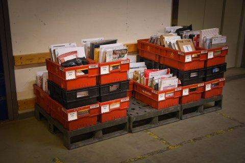 Posten har sikret gode rutiner for å unngå smitte mellom ansatte og kunder.