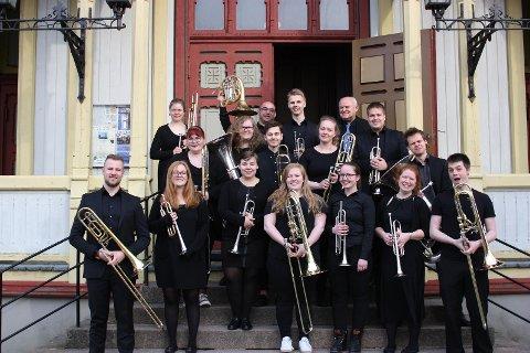 For fjerde år på rad skal årets messingstudenter ved UiS gjennomføre en klassisk konsert i Kulturbruk 44/4 på Bru.