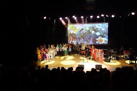 Kulturskolen: Her fra en tidligere forestilling i regi av Randaberg kulturskole.