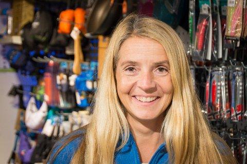 Bestemt: Da Anne Jorunn ble arbeidsledig var hun ikke i tvil om at hun ville jobbe på Sport 1 i sentrum.