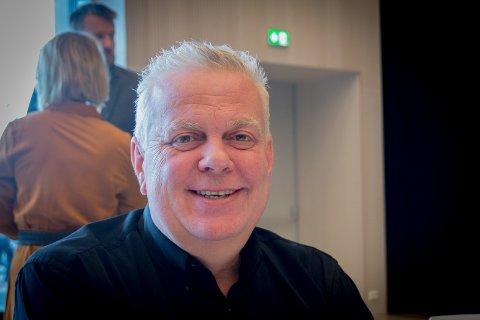 Takknemlig for å få komme: Leif Arne Moi Nilsen, Stavanger FrP, er glad for at han fikk lov til å komme på møtet i dag, der han uttrykte sine meninger om behandlingen av Greater Stavanger AS.